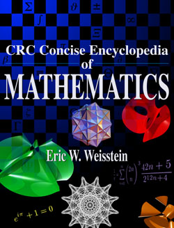 CRC Concise Encyclopedia of Mathematics cover